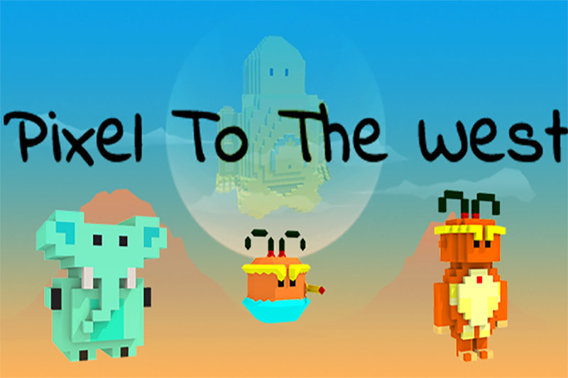 Pixel To The West Cover